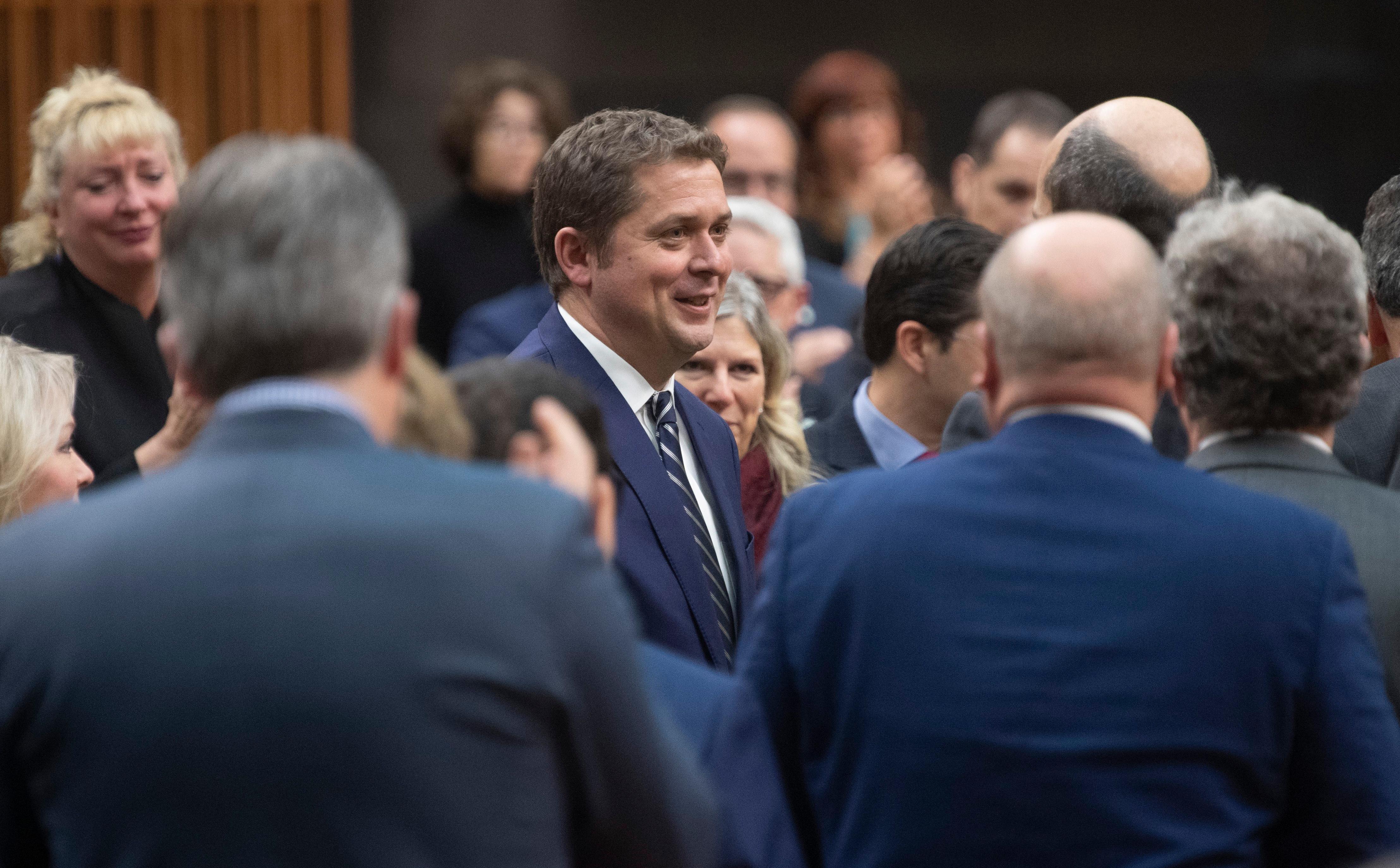 Parti conservateur: des députés progressistes songent à succéder à Scheer