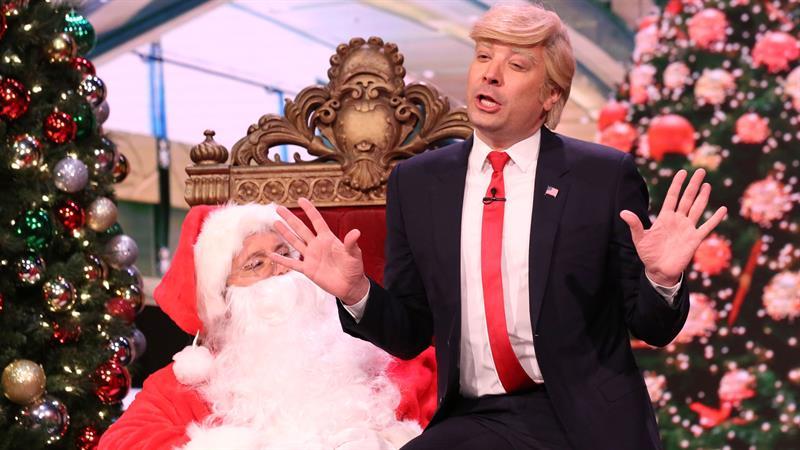 Jimmy Fallon Transforms Into Donald Trump, Hits Rudy Giuliani With New Holiday Nickname
