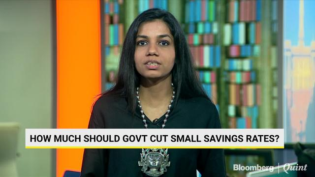 How Much Should Govt Cut Small Savings Rates?