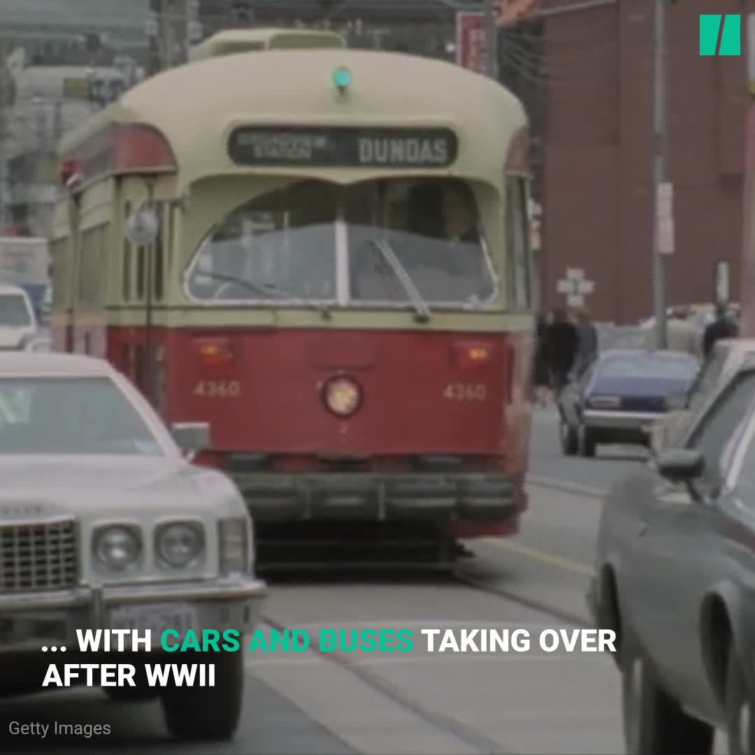 Toronto Retires Its Old Streetcars To Make Way For New Models