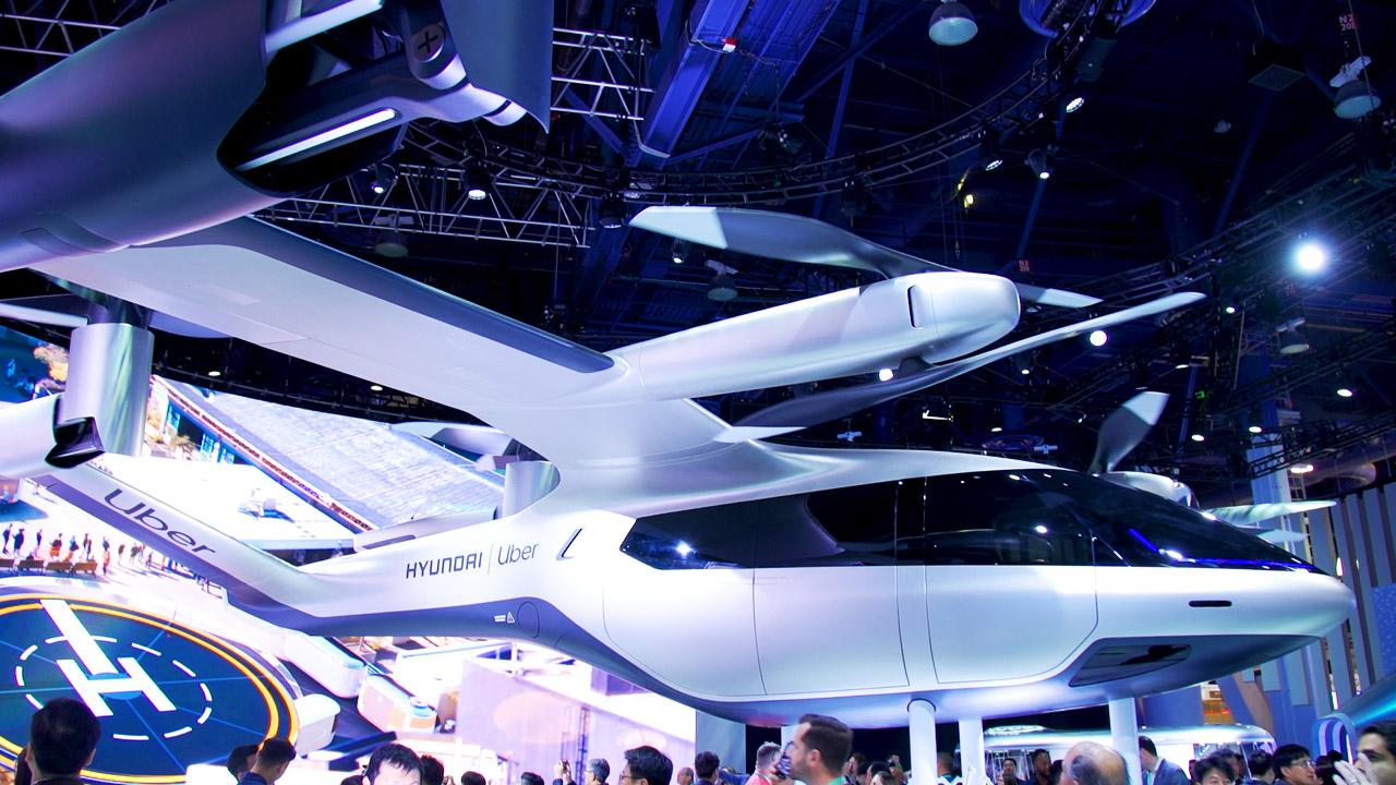 Hyundai and Uber reveal full-size Air taxi prototype at CES 2020