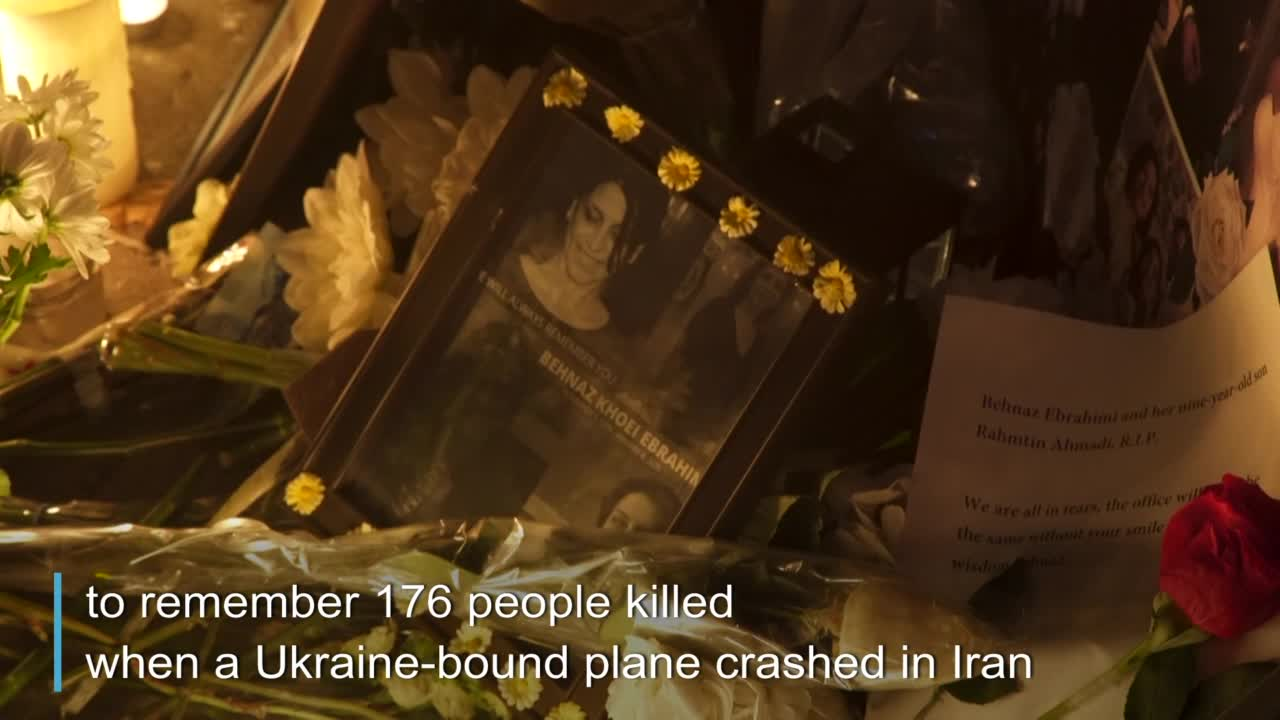 Teen gives heartbreaking speech after his dad dies in Iran plane crash: 'I still can't believe it'