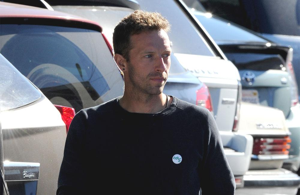 Chris Martin shares adorable story about embarrassing his daughter at work