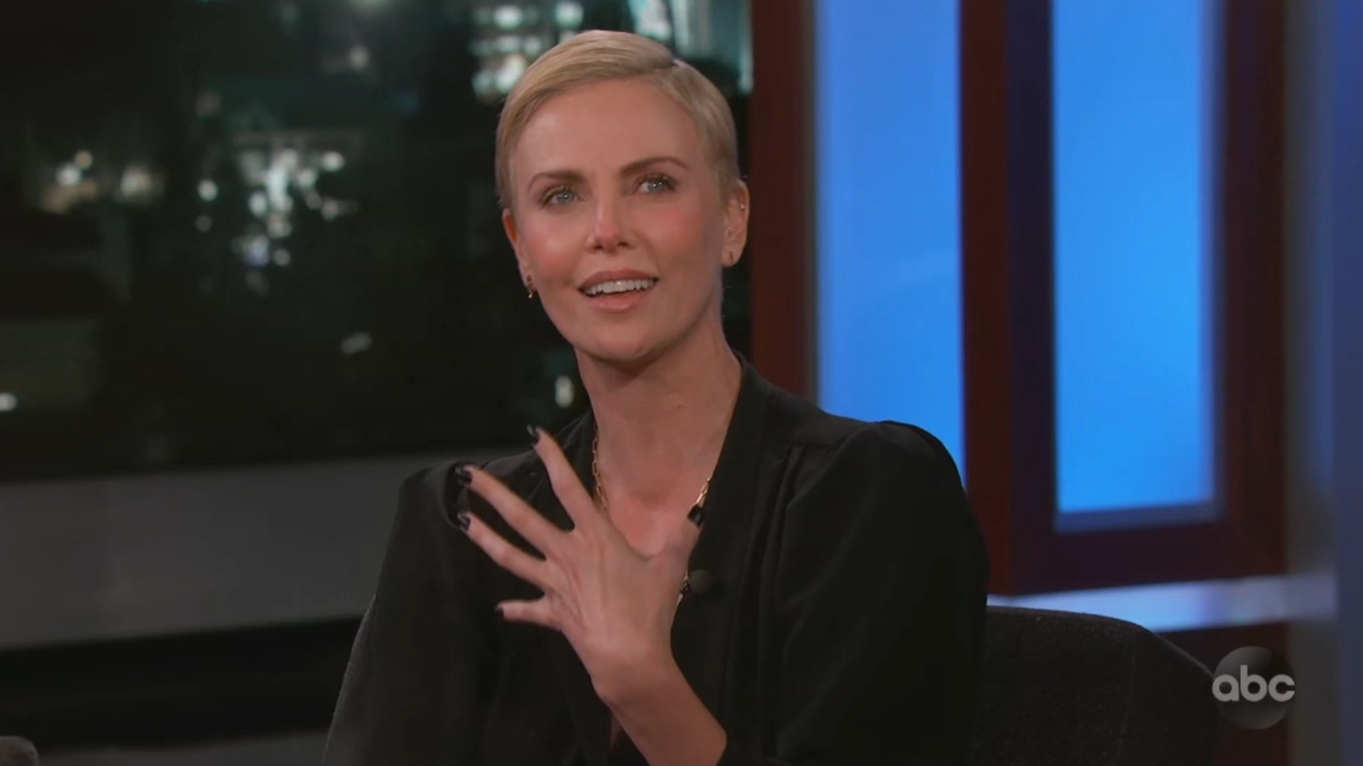 Charlize Theron brought to tears while describing her 'worst date ever'
