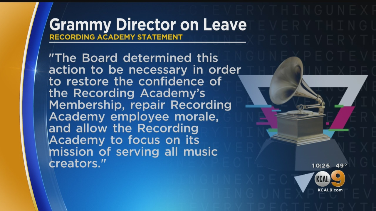 Grammys Head Put On 'Administrative Leave' After Misconduct Allegation