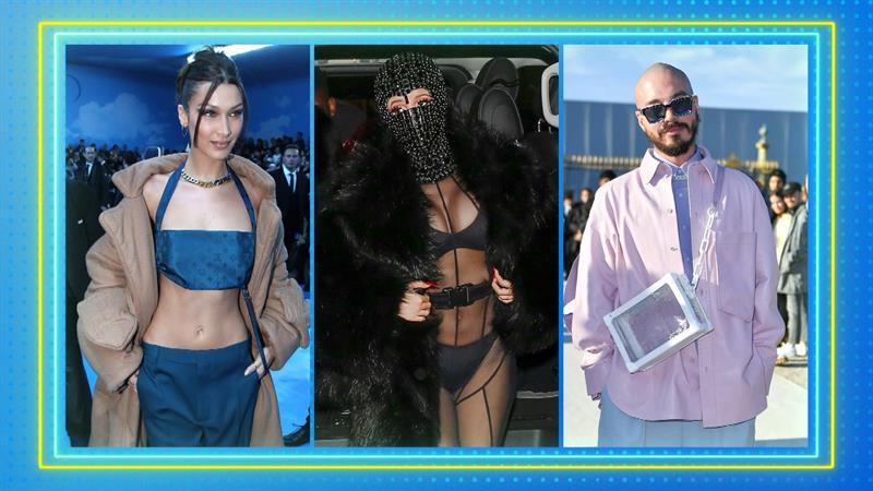 Runway show stuns Paris Fashion Week with celebrity look-alike models