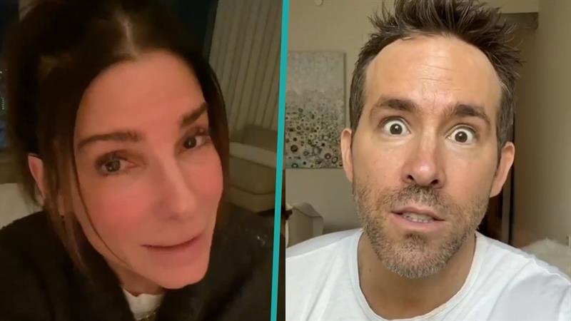 Ryan Reynolds and Sandra Bullock team up in adorable birthday video for Betty White