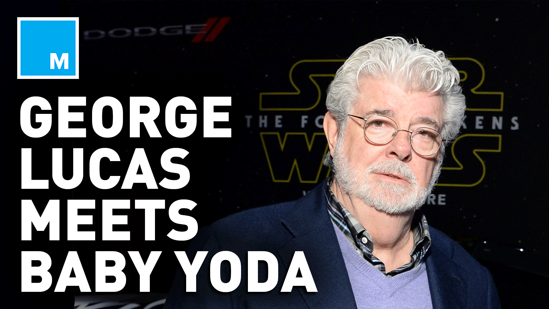 A Photo Of Star Wars Creator George Lucas Cradling Baby Yoda Is Melting People's Hearts