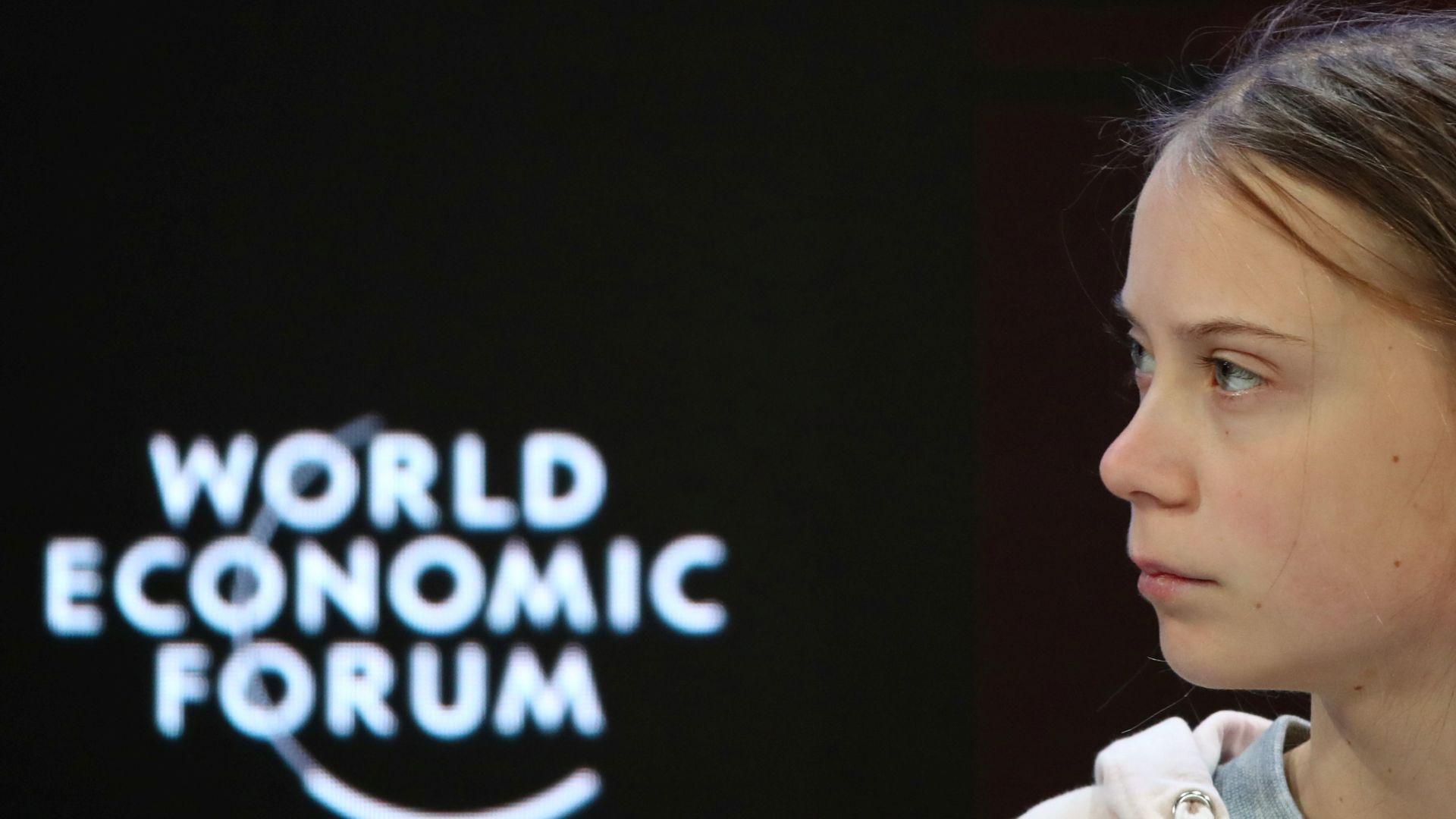 Greta Thunberg Clashes With US Treasury Secretary Steven Mnuchin In Davos