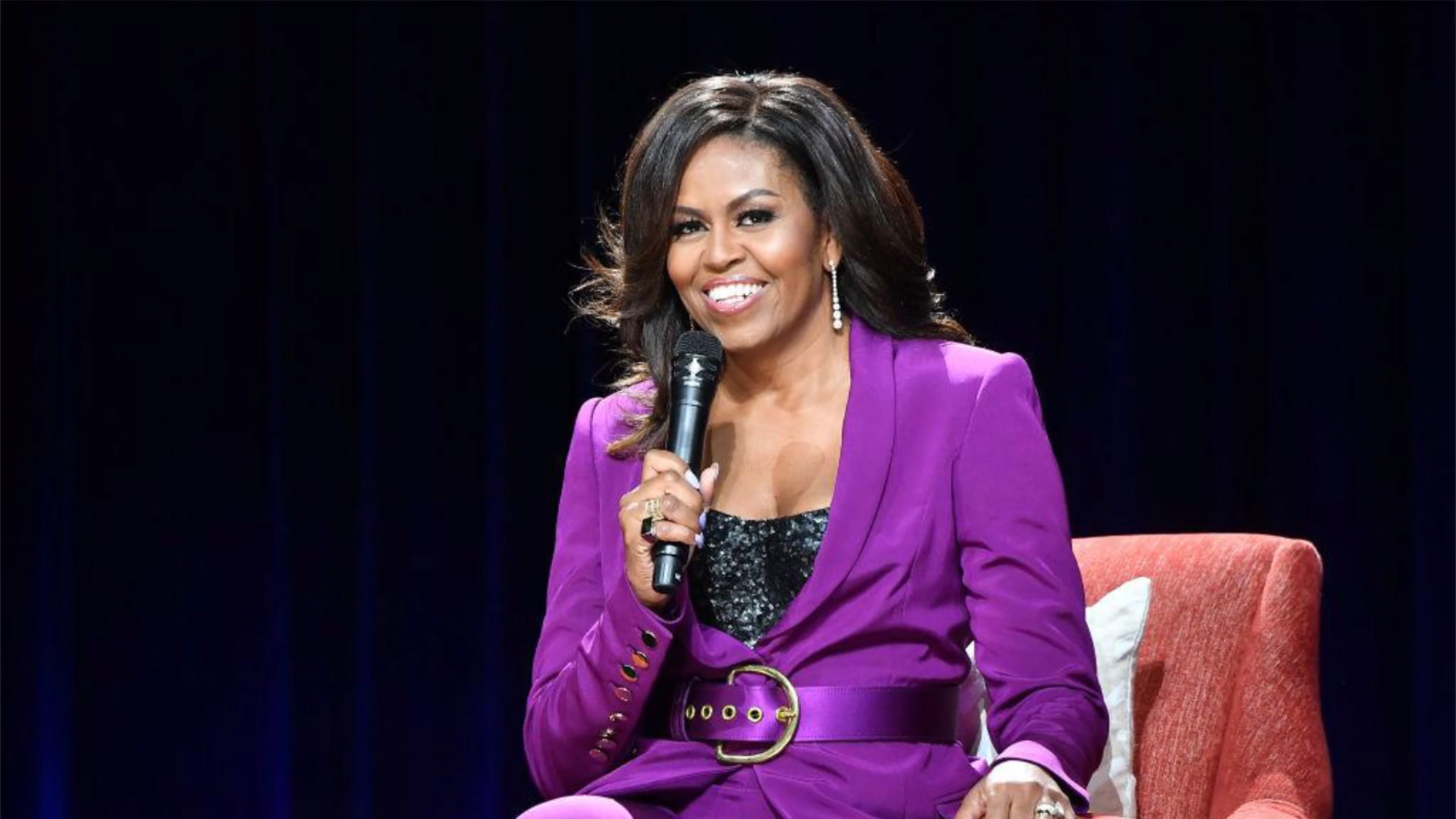 Michelle Obama Wins Grammy Award For Audio Recording Of 'Becoming' Memoir