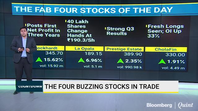 The Fab Four Stocks In Trade Today
