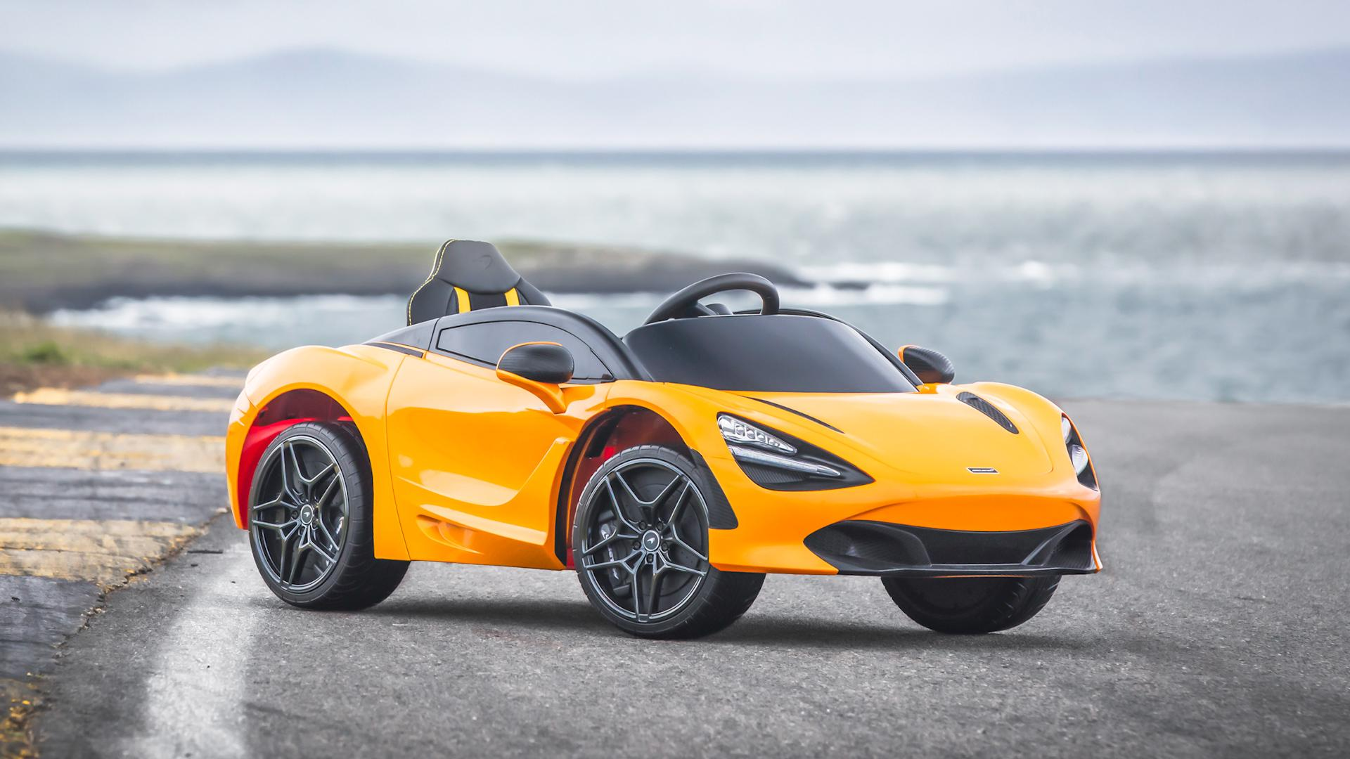 This McLaren 720S ride-on toy is a supercar for kids