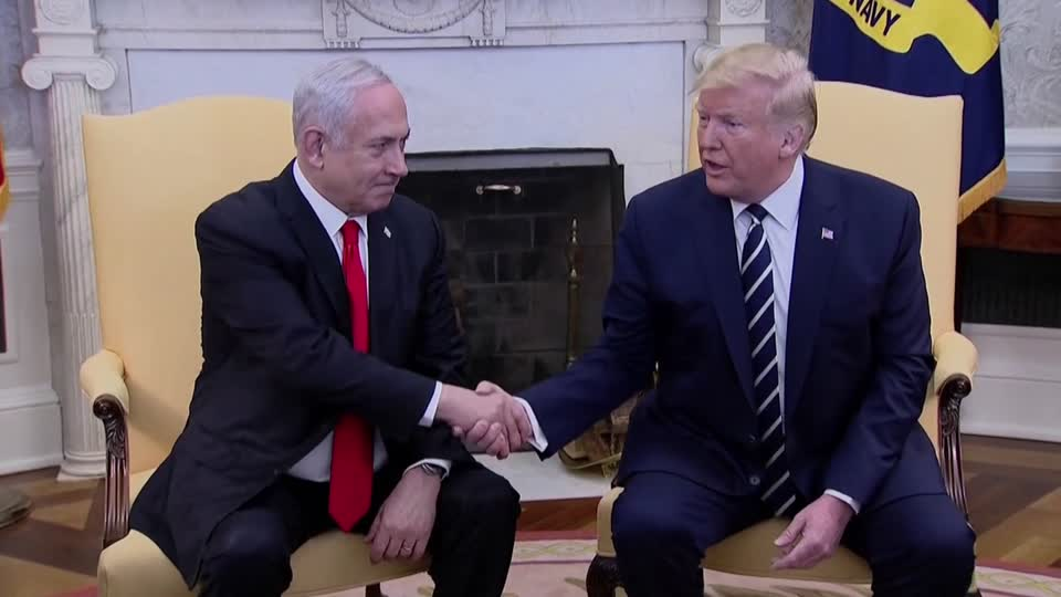 Trump And Netanyahu Unveil Long-Awaited Middle East Peace Plan