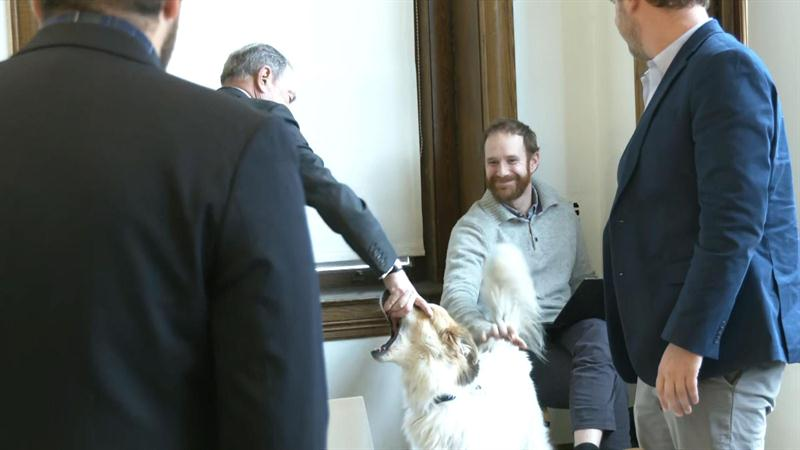People wonder if Michael Bloomberg has ever pet a dog after awkward moment goes viral