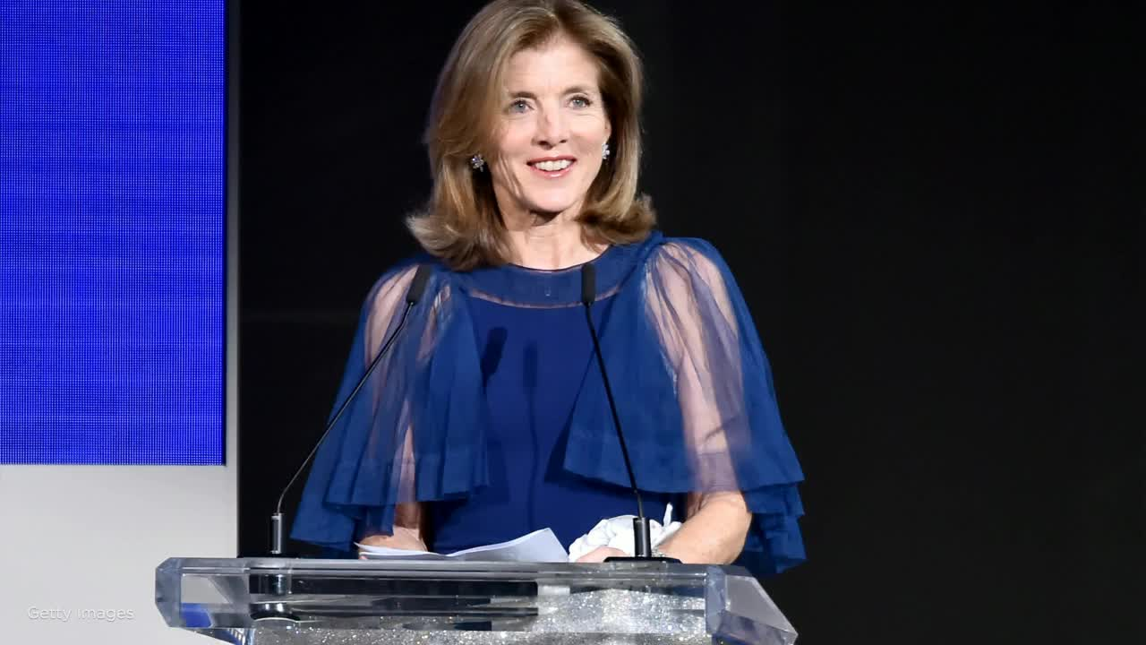Caroline Kennedy shares her presidential pick: 'Our fundamental values are at stake'