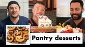 Pro Chefs Makes 9 Different Pantry Desserts