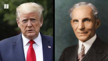 Henry Ford Donal Trump Detroit Nazi fascism holocaust anti-semitism eugenics