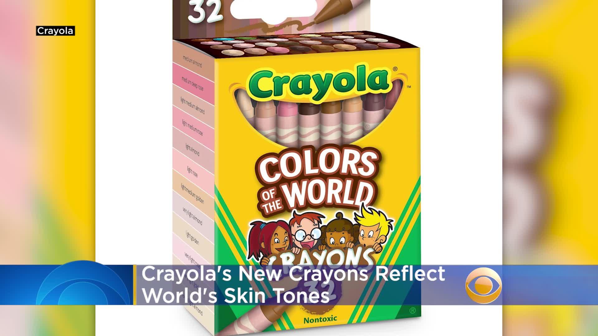 Crayola Unveils New Inclusive Skin Tone Crayons
