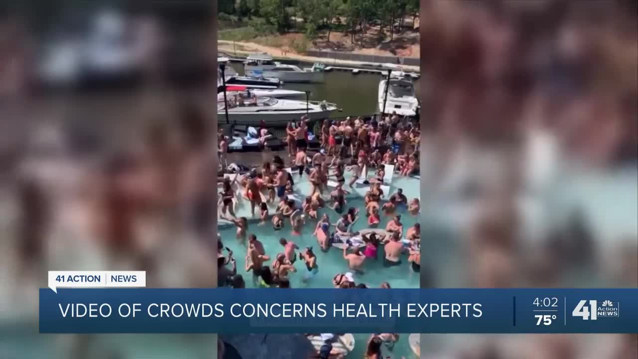 Guest At Packed Memorial Day Weekend Pool Party Tests Positive For Coronavirus