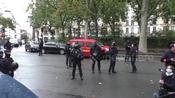 Scenes from deadly knife attack in Paris