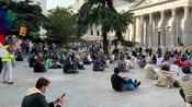Global Climate Action Day event in Madrid draws crowd demanding action on environment
