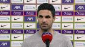 Arteta: Liverpool set incredible standards