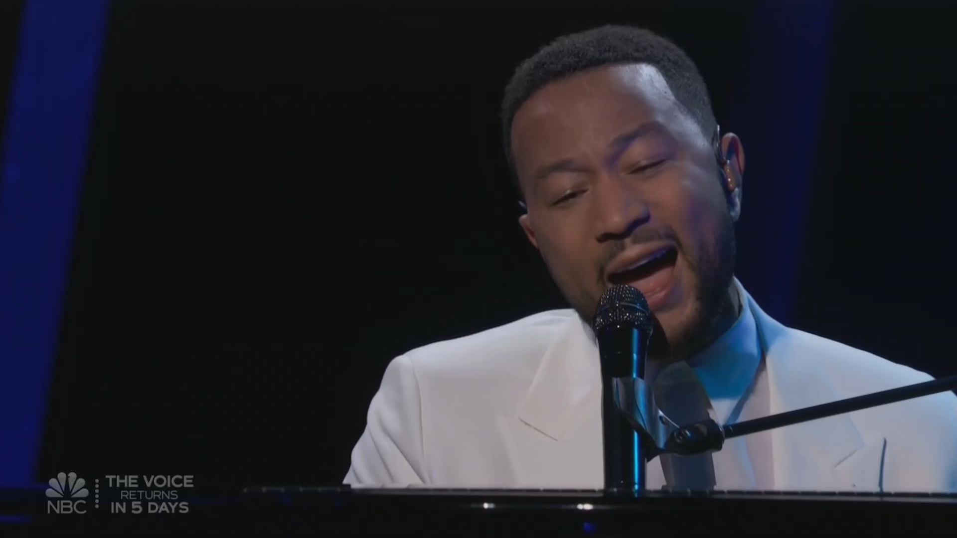 John Legend dedicates emotional Billboard Music Awards performance to wife Chrissy Teigen two weeks after pregnancy loss