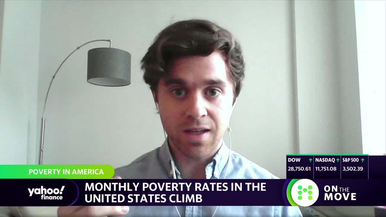 Millions of Americans are entering poverty amid pandemic as stimulus runs out