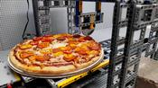 Man Makes Amazing Pizza-Making Machine... From Lego
