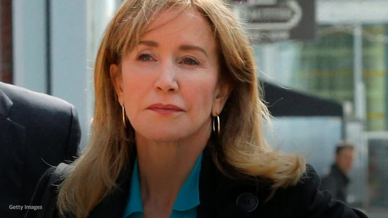 Felicity Huffman wants passport back as she completes college admissions scandal sentence