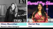 The Darriel Roy Show - Hilary Macmillan, Designer