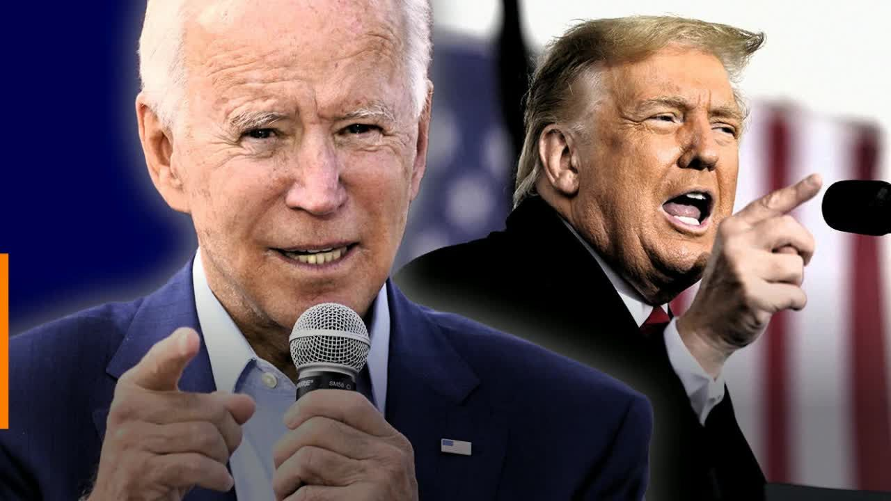Campaigning during a pandemic, Biden and Trump lead by example — 2 opposite examples