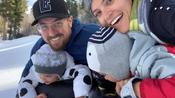 Family Does Snow Tubing Together