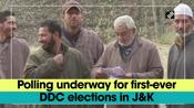 Polling underway for first-ever DDC elections in JandK