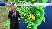 Video: Downpours, thunderstorms to last for a few more hours