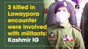 3 killed in Lawaypora encounter were involved with militants: Kashmir IG