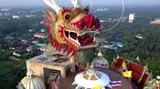 17 stories high and mostly unheard of: The magical dragon temple in Thailand
