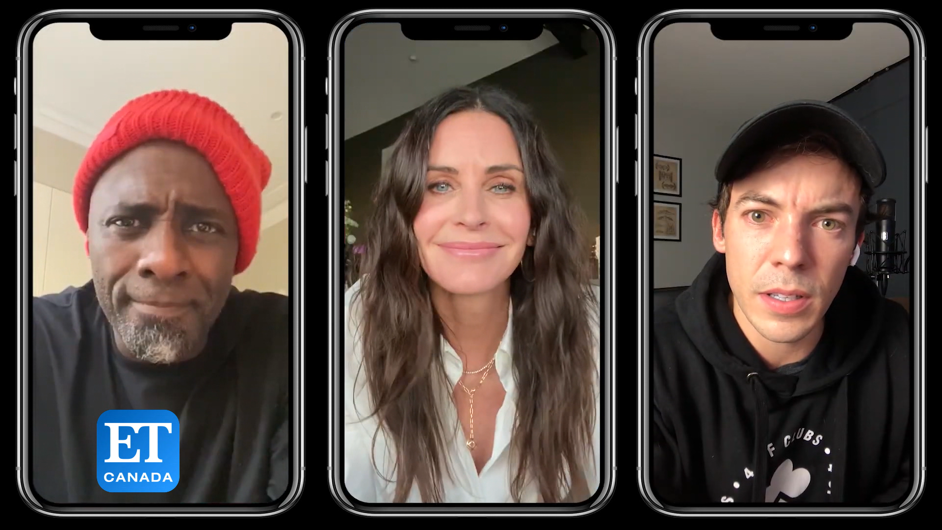 How Idris Elba, Connor Price Convinced Courteney Cox To Rap On New Single