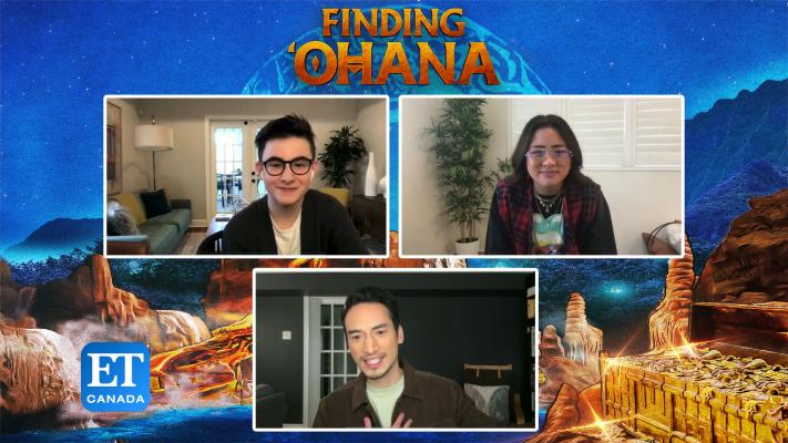 Cast Talk 'Finding 'Ohana'