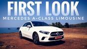 Mercedes A-Class Limousine: First look