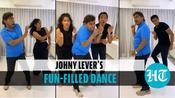 Watch: Johny Lever grooves with kids Jamie and Jesse, leave netizens in awe