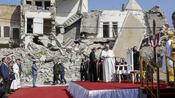 Pope Francis calls on Iraqi Christians to forgive and rebuild post war