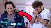 Top 20 Scenes Where Actors Couldn't Keep a Straight Face
