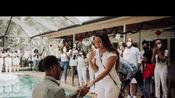 Man Surprises Girlfriend With Proposal and Engagement Party