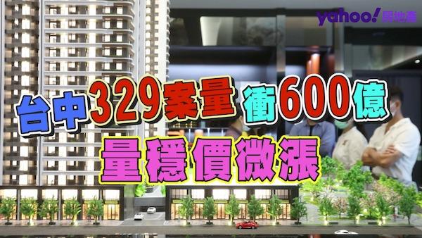 台中329案量衝600億!打房未影響自住客
