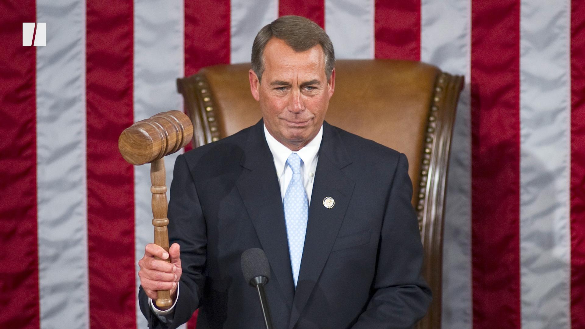 John Boehner Blasts Donald Trump