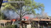 Residential fire in El Dorado spreads as 12 agencies work together to control it