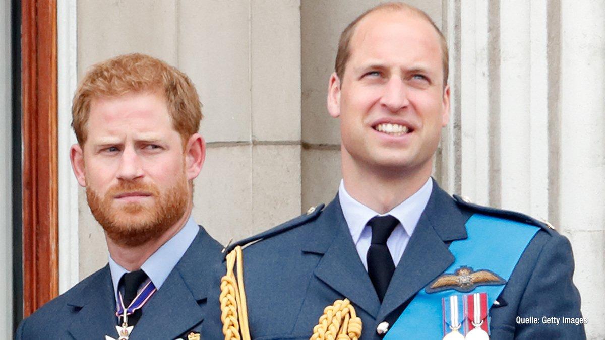 Harry & William getrennt bei der Beerdigung von Prinz Philip?