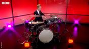 BBC drumming weatherman performs viral routine on one year anniversary