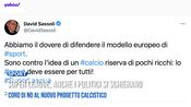 Super League, anche i politici si schierano